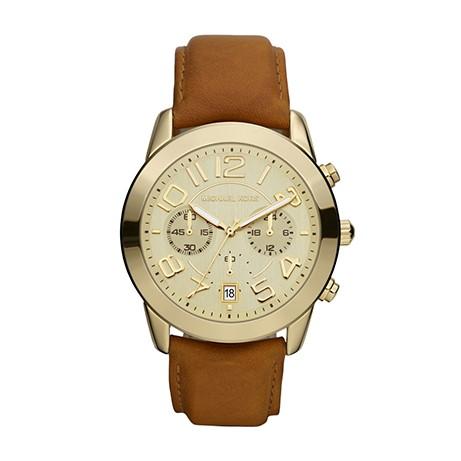 Michael Kors Mercer Champagne horloge