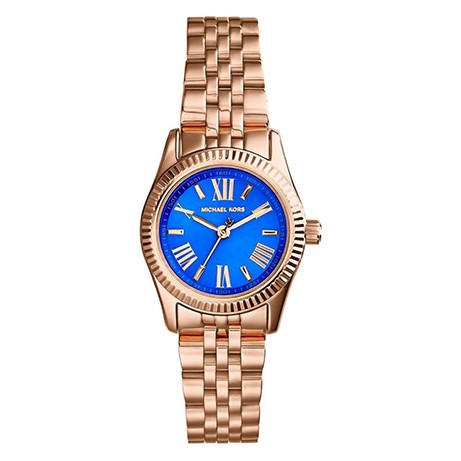 Michael Kors Mini Lexington Blauw