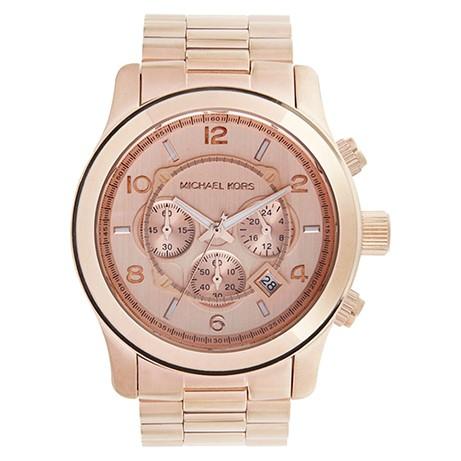 Michael Kors Runway Rose goud  horloge