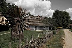 Sanok blokhut Polen